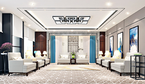 广州恒信集团办公室装修设计