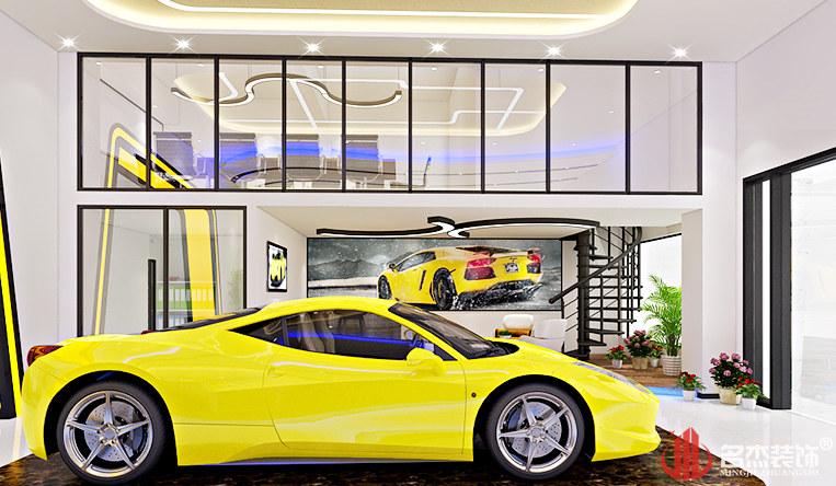 兰博基尼展厅设计